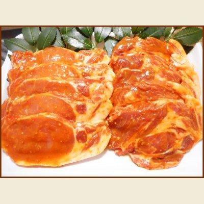 画像1: 自社製 北海道産豚味噌漬けセット 800g(ロース・肩ロース 各5枚入り)