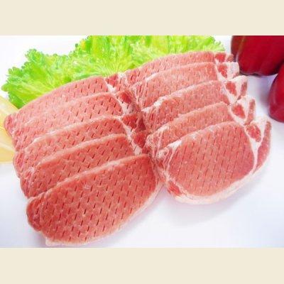 画像2: 【特売】◆とんかつ用◆カナダ産 豚ロース肉 7枚