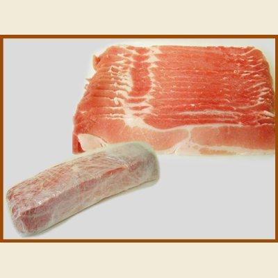 画像2: 輸入 豚バラ スライス 1kg