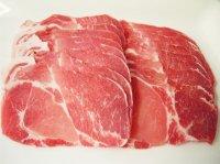 輸入 豚肩ロース スライス 1kg
