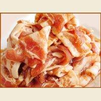 自社製 味付豚カルビ(醤油味) 1kg