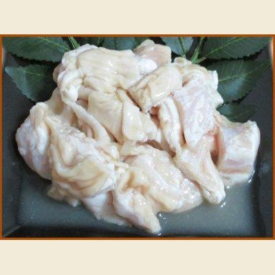 画像1: 自社製 味付豚ホルモン(塩味) 1kg