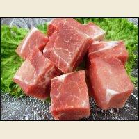 北海道産 豚ウデ 角切り 1kg