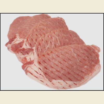 画像1: アメリカ産 豚ロース カツ用 1kg(1枚100g×10枚)
