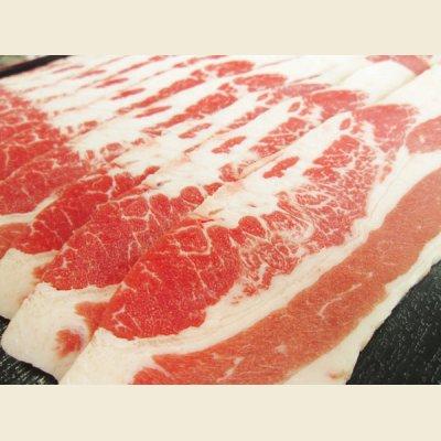 画像1: アメリカ産 牛バラ スライス 500g