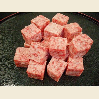 画像1: サイコロステーキ 2kg(1kg×2)