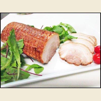 画像1: 味付豚バラチャーシュー ブロック 1本(約600-700g)